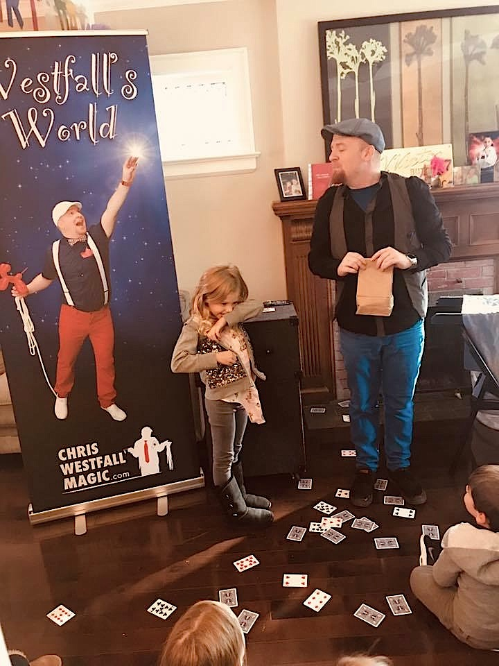 Birthday Party Magician Chris Westfall
