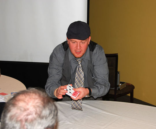 Toronto close up magician