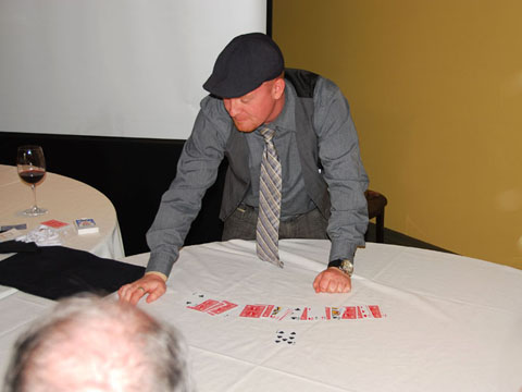 Toronto corporate close up magician
